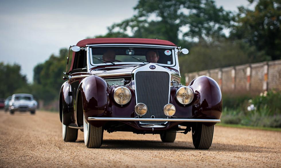 Mullin Collection 1937 Delage D8-120 Cabriolet