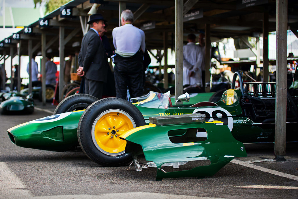 1962 Lotus-Climax 25 at the 2017 Goodwood Revival