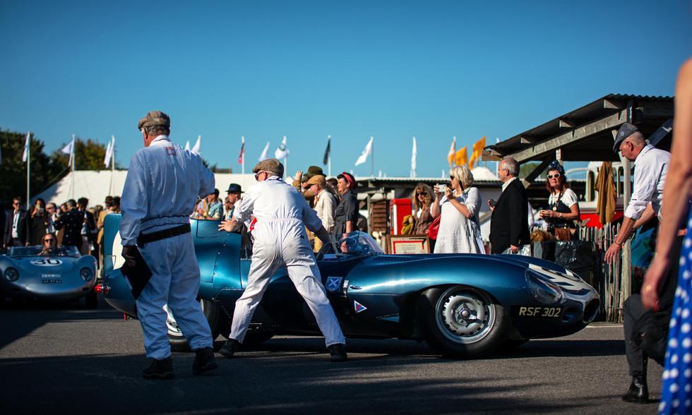 1955 Ecurie Ecosse Jaguar D-Type