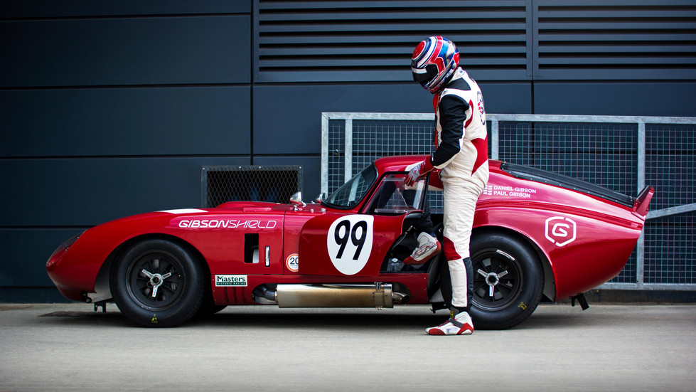 Daniel & Paul Gibson's Daytona Cobra