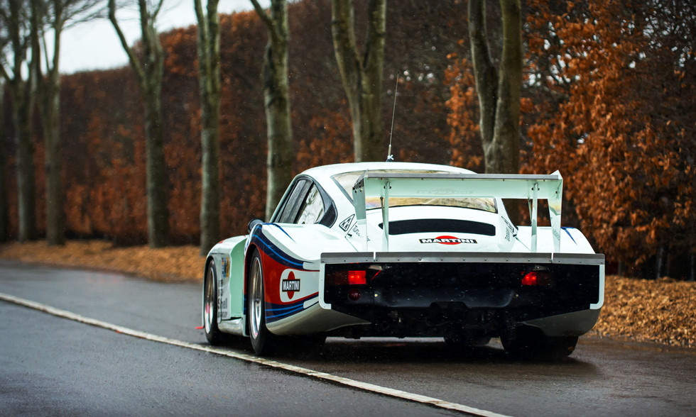 Porsche 935 78 Moby Dick at the Goodwood 76MM
