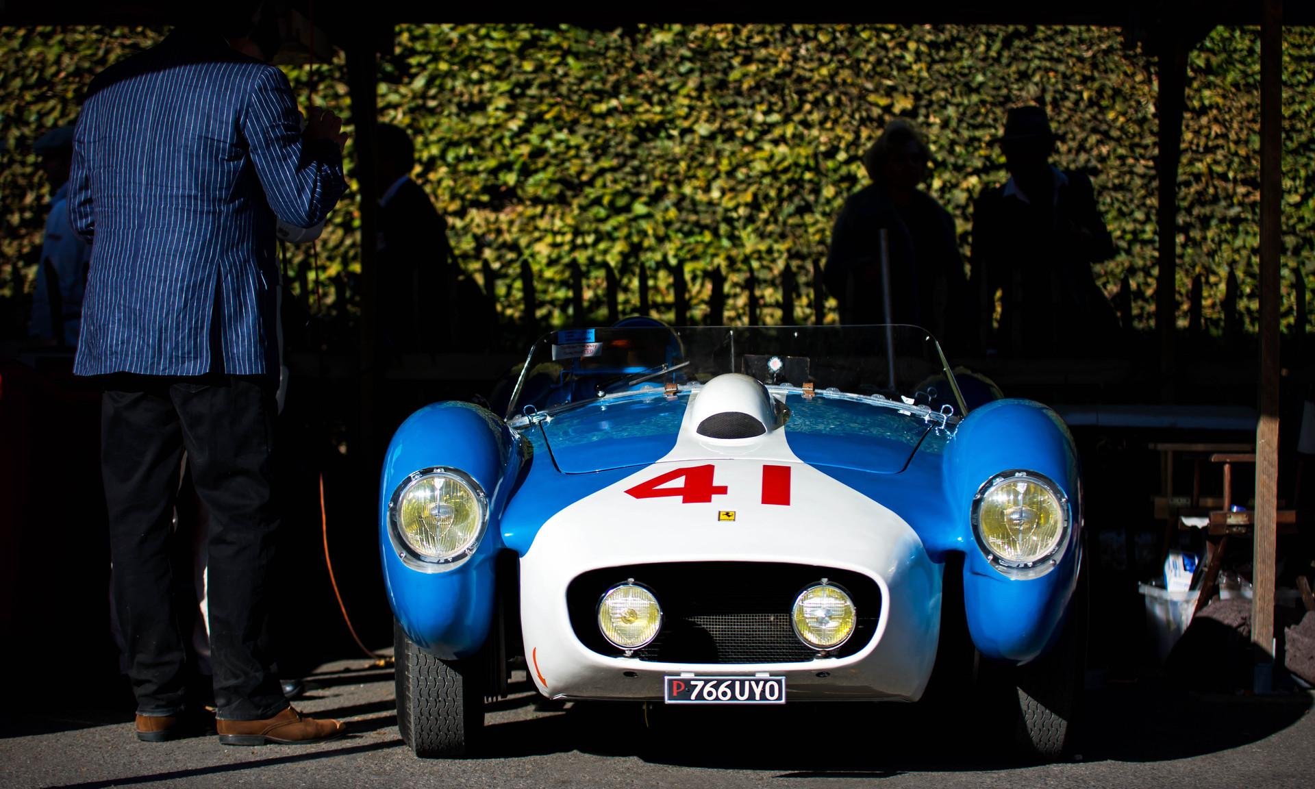 Neil Twyman & David Cooke's 1957 Ferrari 250/315S