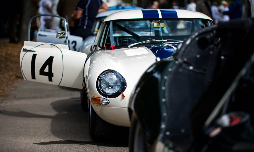 Carlos Monteverde's 1963 Jaguar E-Type
