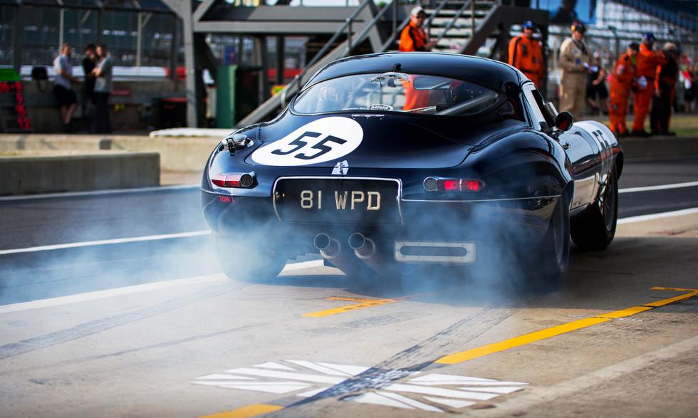 Martin Melling's 1961 Jaguar E-type