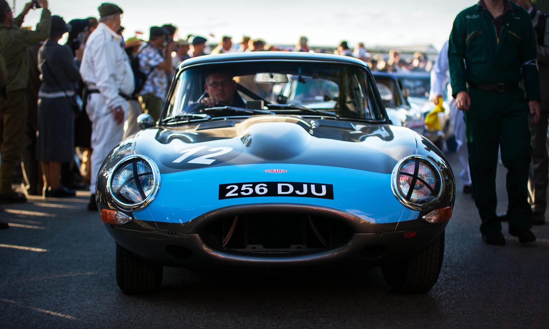RIchard Meins & Rob Huff's 1961 Jaguar E-Type