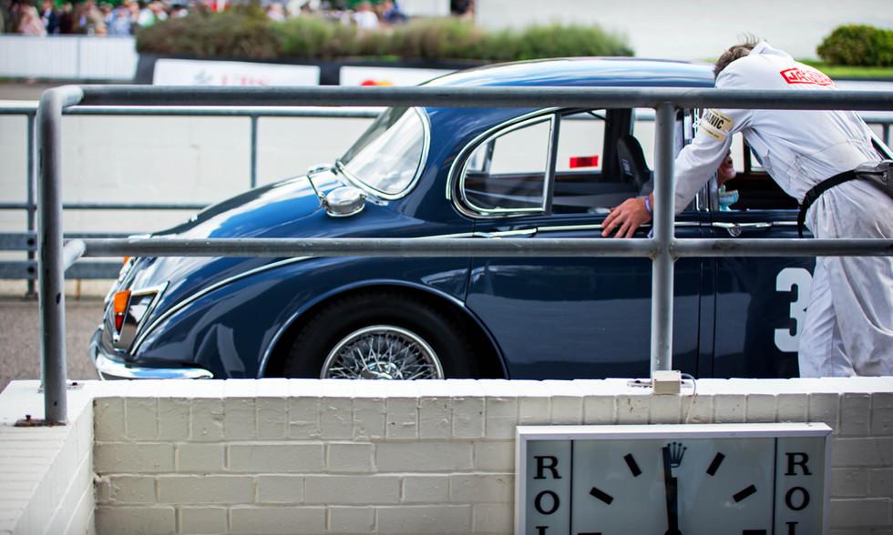 Tiff Needell's 1960 Jaguar Mk2