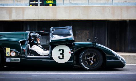 Jason Wright's 1969 Lola T70 Mk3B at the