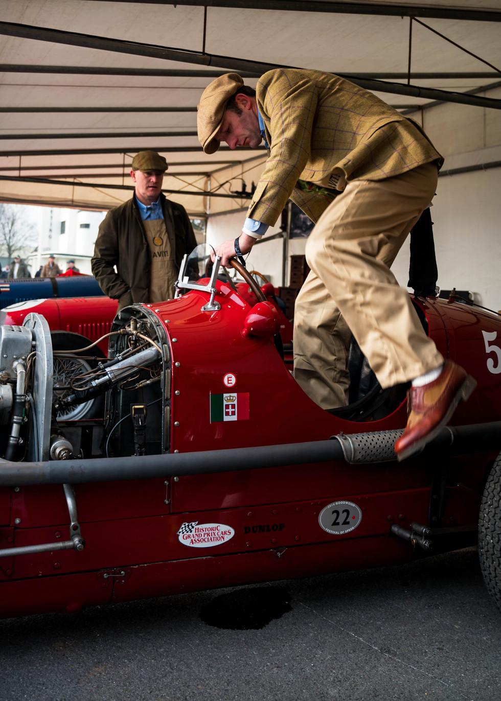Nigel Griffiths' 1936 Maserati 6CM