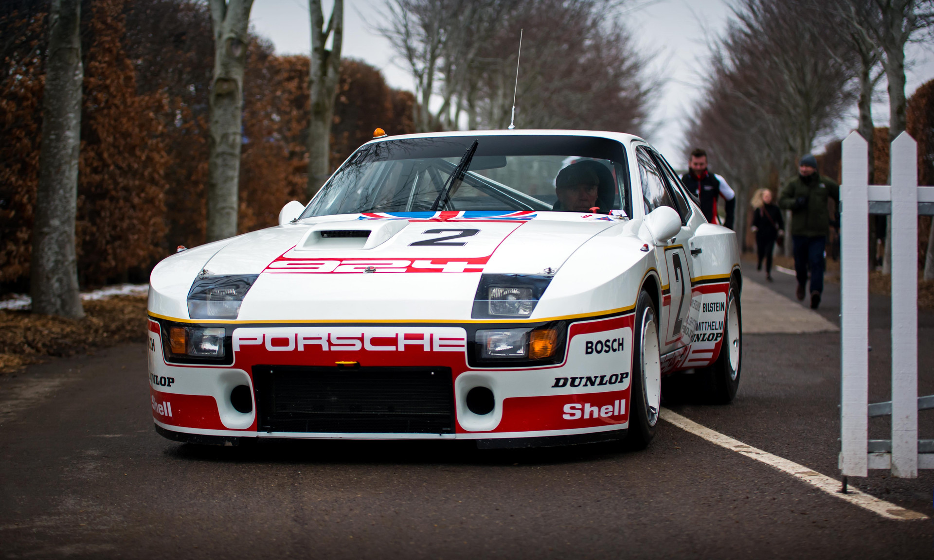 Group 5 Special Production Porsche 924 at the Goodwood 76MM