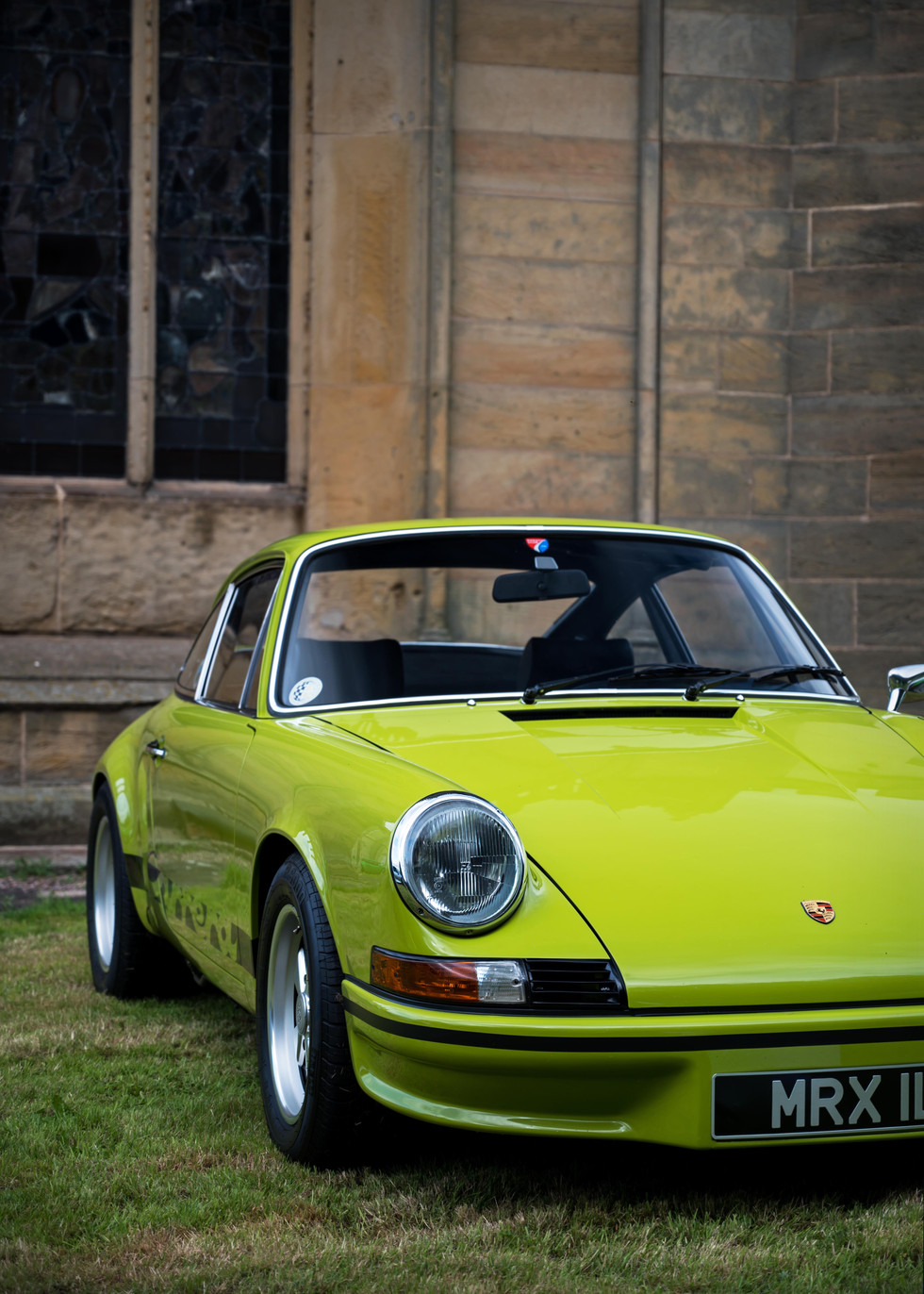 Chartreuse Green Porsche 911 Carrera RS