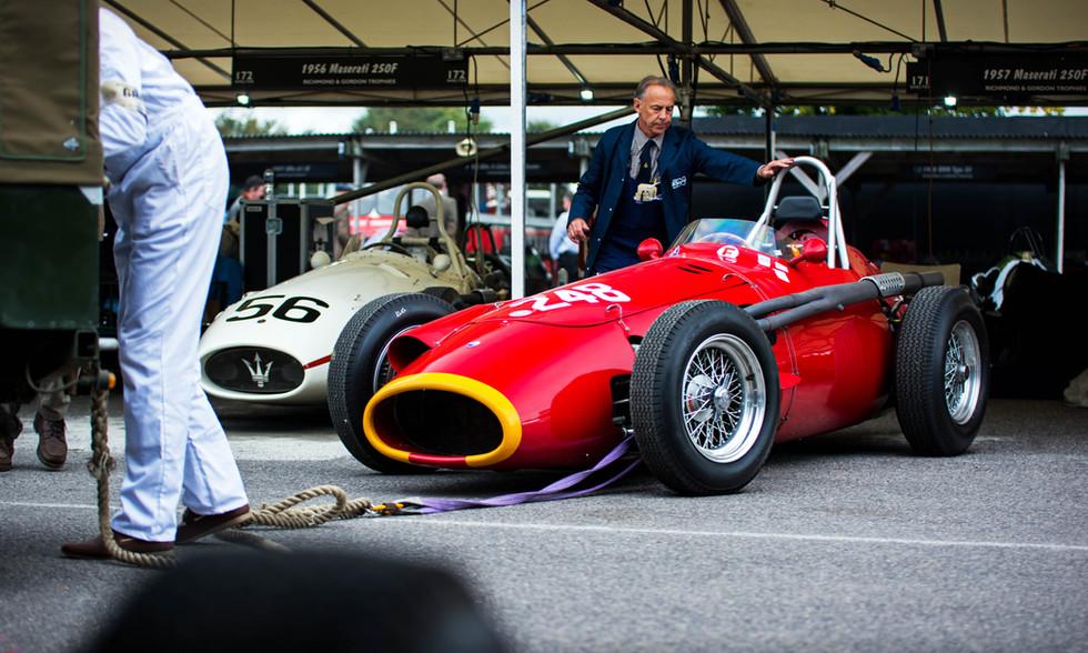 Klaus Lehr's 1957 Maserati 250F