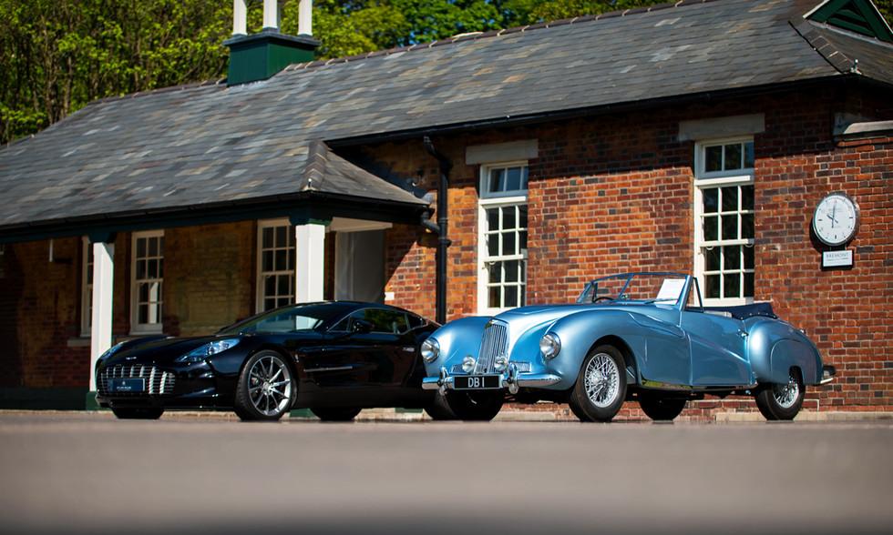 Aston Martin DB1 & One-77