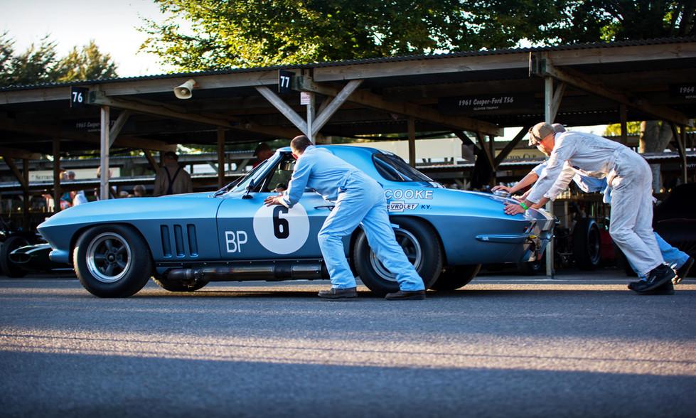 Nick Jarvis & Stig Blomqvist's 1964 Chevrolet Corvette Stingray