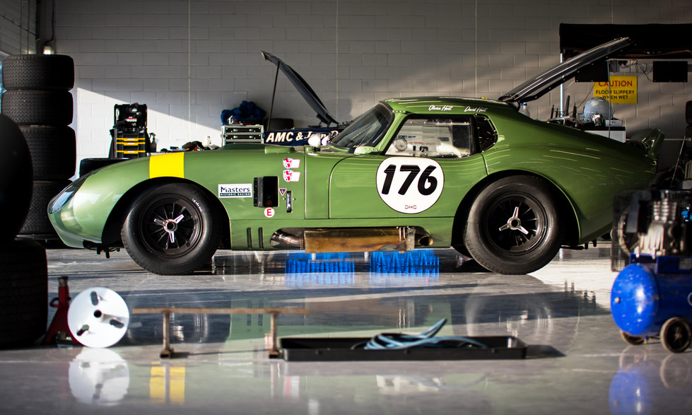 David & Olivier Hart's Shelby Daytona Cobra