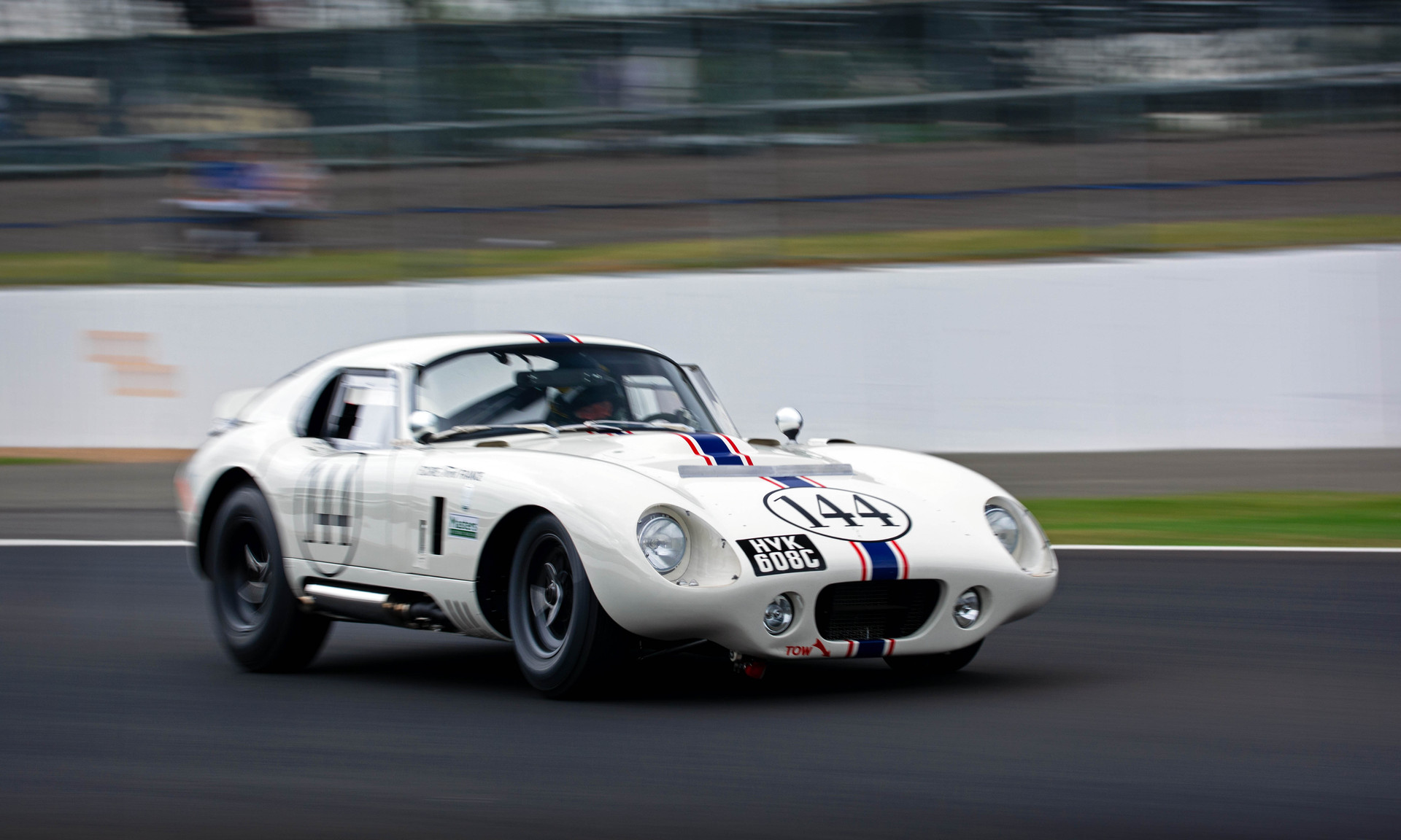 Paul Pochciol & James Hanson's 1965 AC Cobra Daytona Coupe