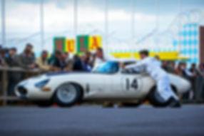 Carlos Monteverde's 1963 Jaguar E-Type L