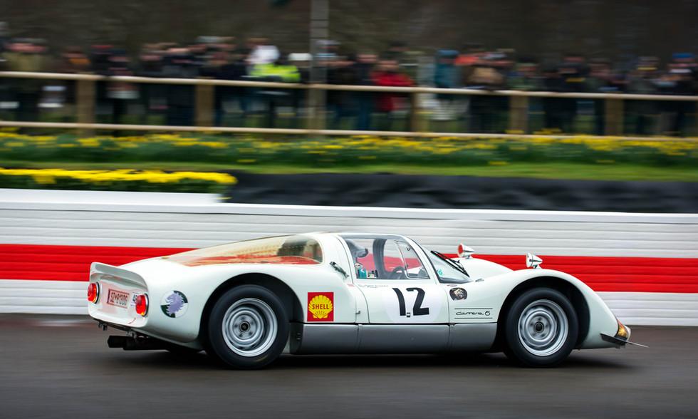 Armin Zumtobel's 1966 Porsche 906 at the Goodwood 76MM