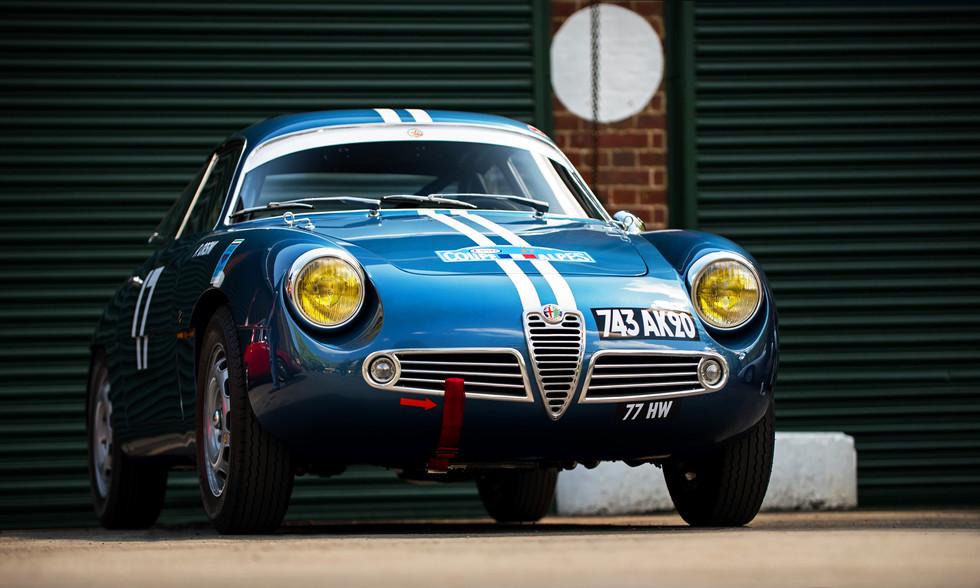 Alfa Romeo Giulietta SZ Zagato