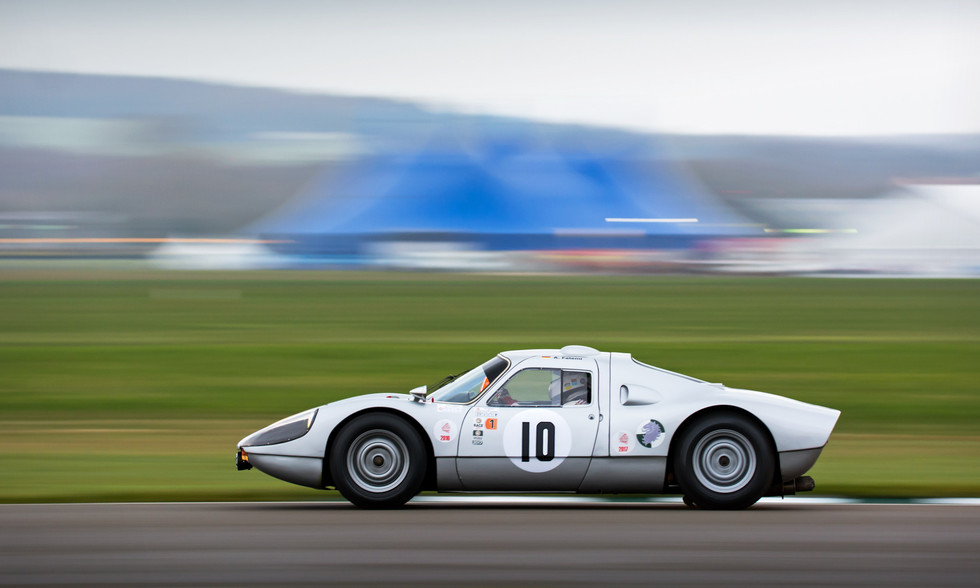 Afschin Fatemi's 1964 Porsche 904 Carrera GTS at the Goodwood 76MM