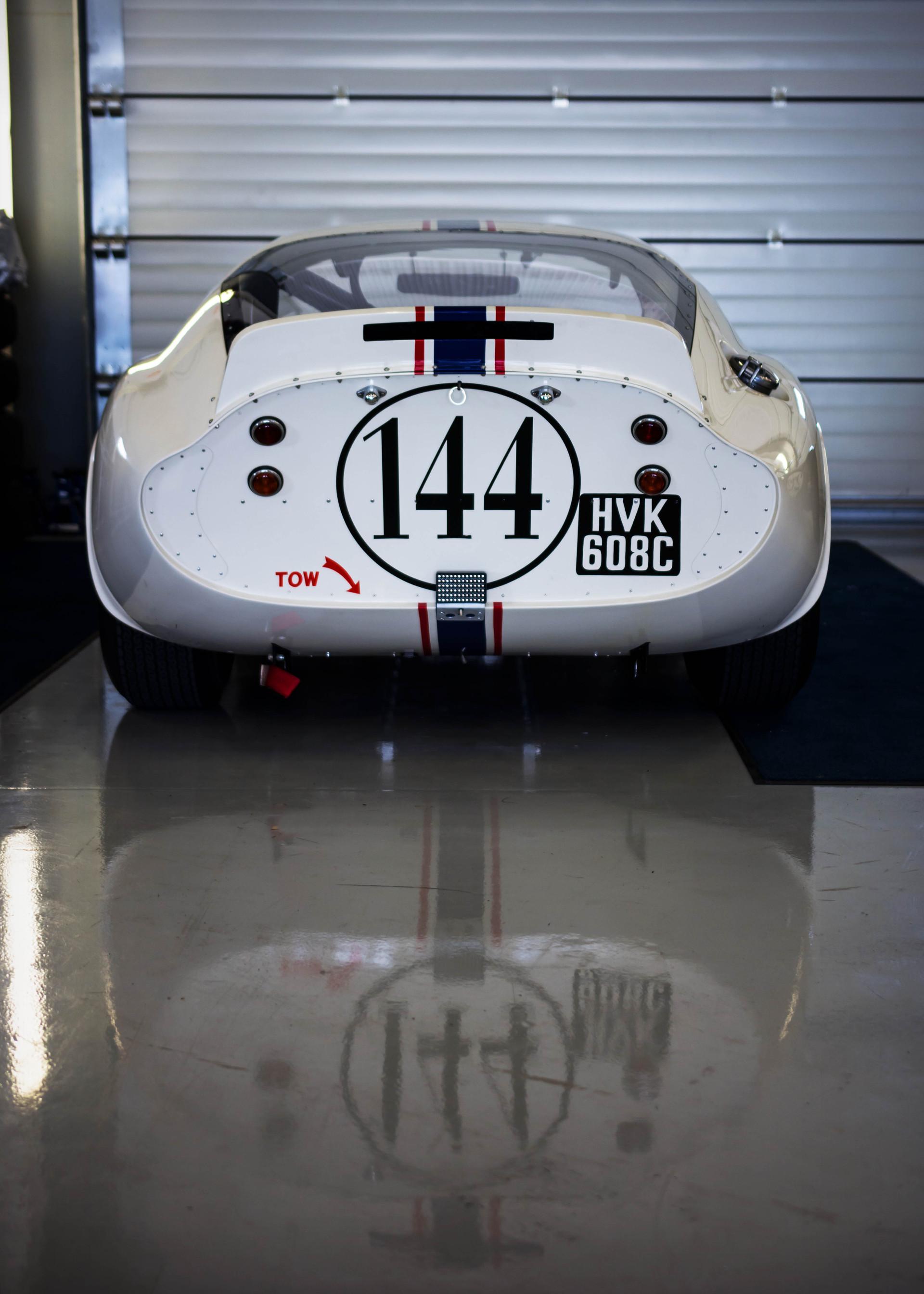 Paul Pochciol's Shelby Daytona Cobra