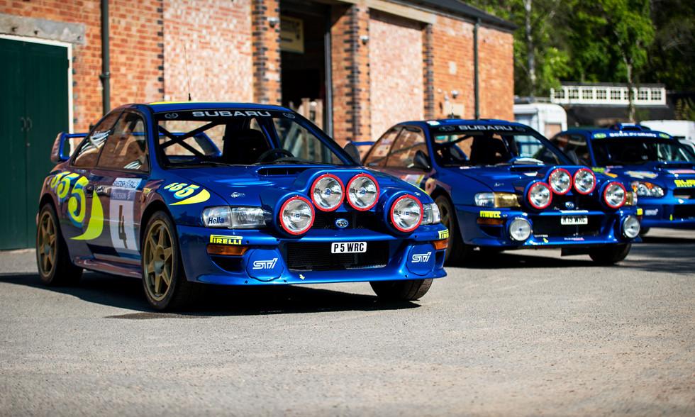 Subaru Impreza WRCs