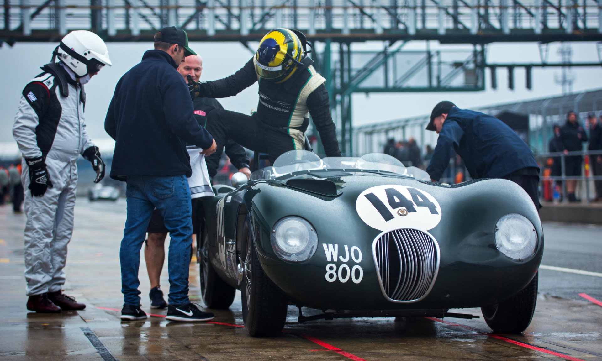 Paul Pocchiol & James Hanson's 1953 Jaguar C-Type