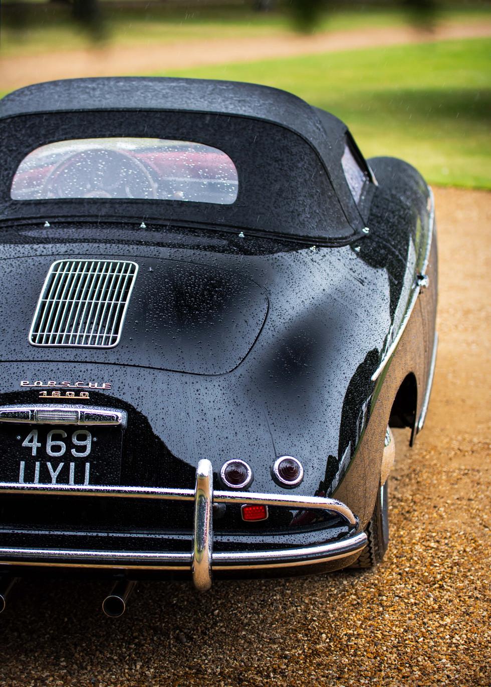 Stewart Morley's 1957 Porsche 356A Speedster