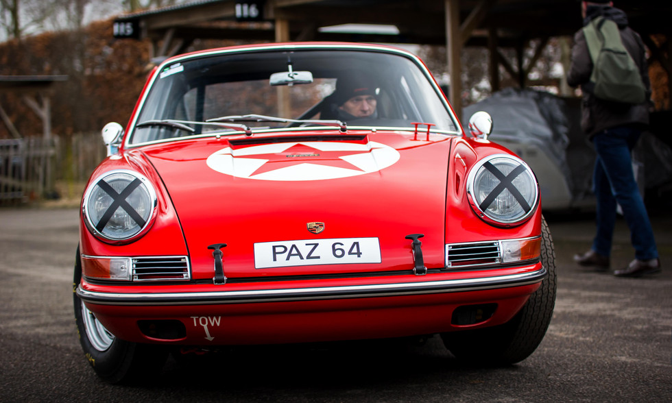 Owen Clay & Lee Maxted-Page's 1964 Porsche 901 at the Goodwood 76MM