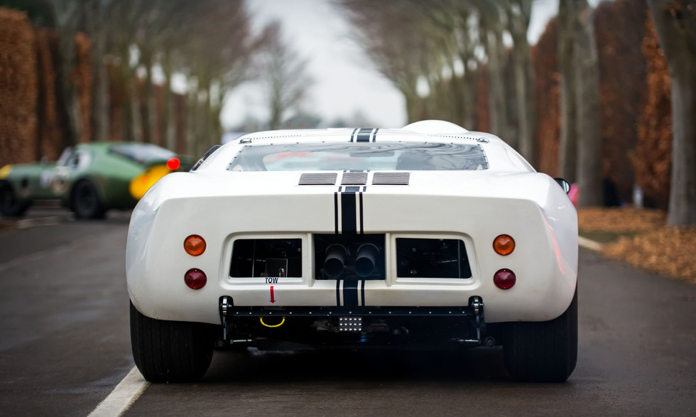 Richard Meins' 1965 Ford GT40 Prototype at the Goodwood 76MM