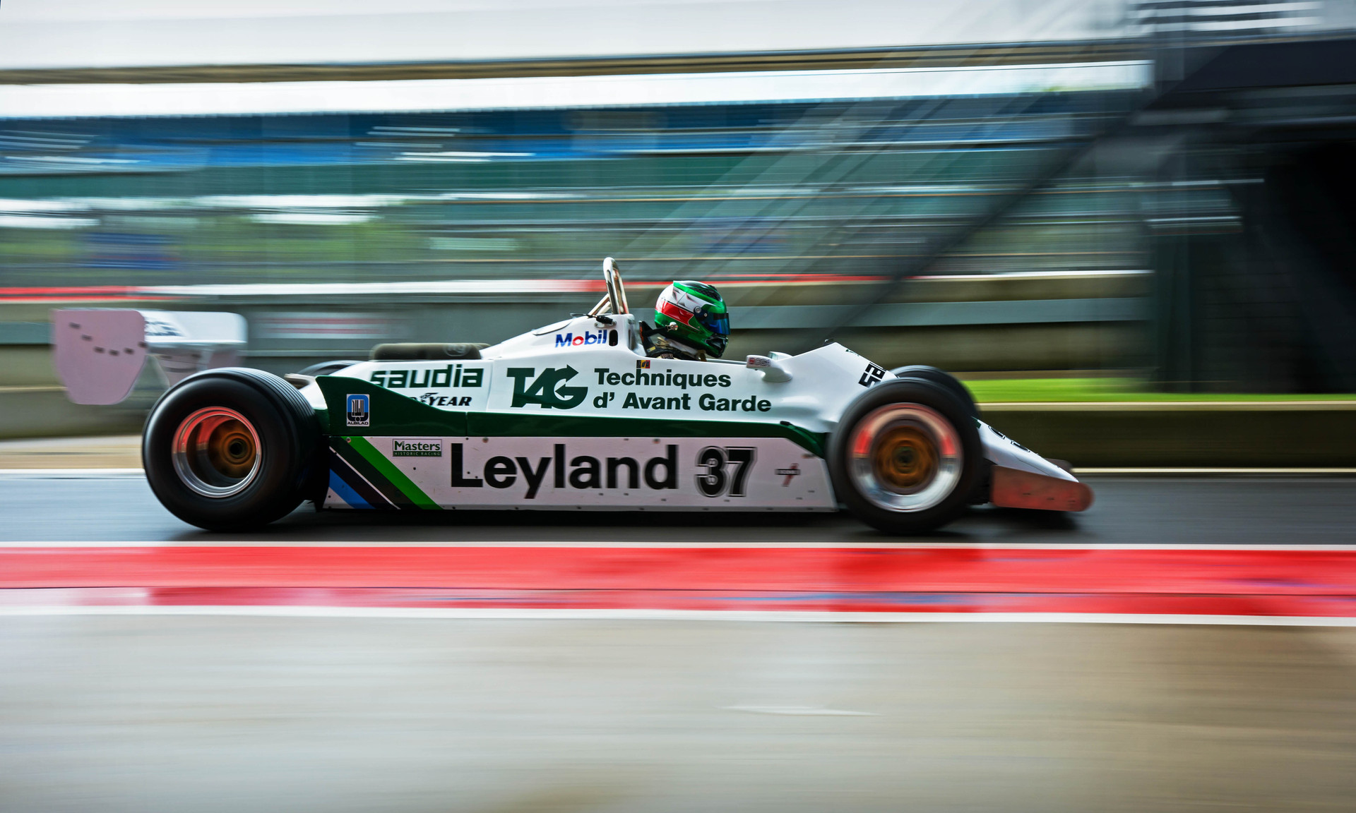 Christoph 'd'Ansembourg's 1981 Williams FW07C at the 2018 Silverstone Classic Preview Day