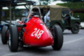 Klaus Lehr's 1957 Maserati 250F at the 2