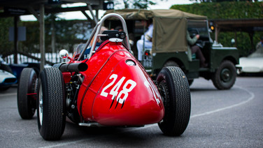 front engined grand prix cars at the goodwood revival
