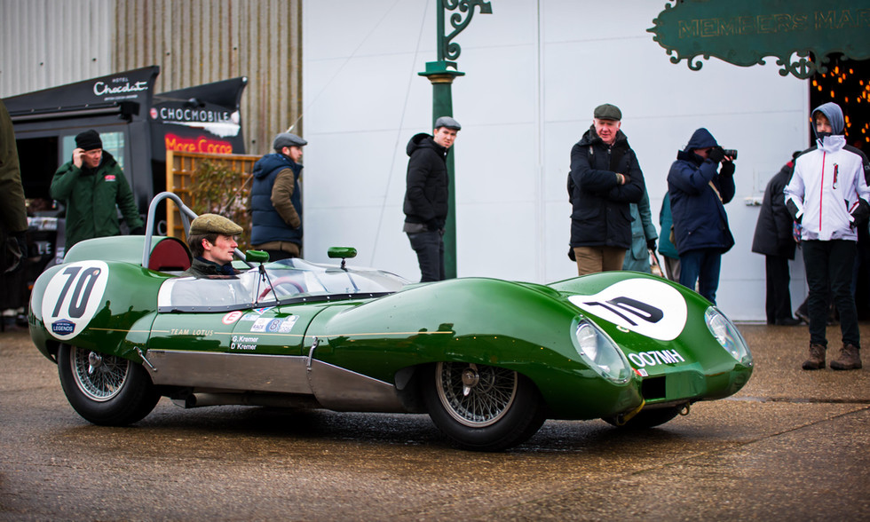 Gabriel & Dion Kremer's 1958 Lotus-Climax 17 at the Goodwood 76MM