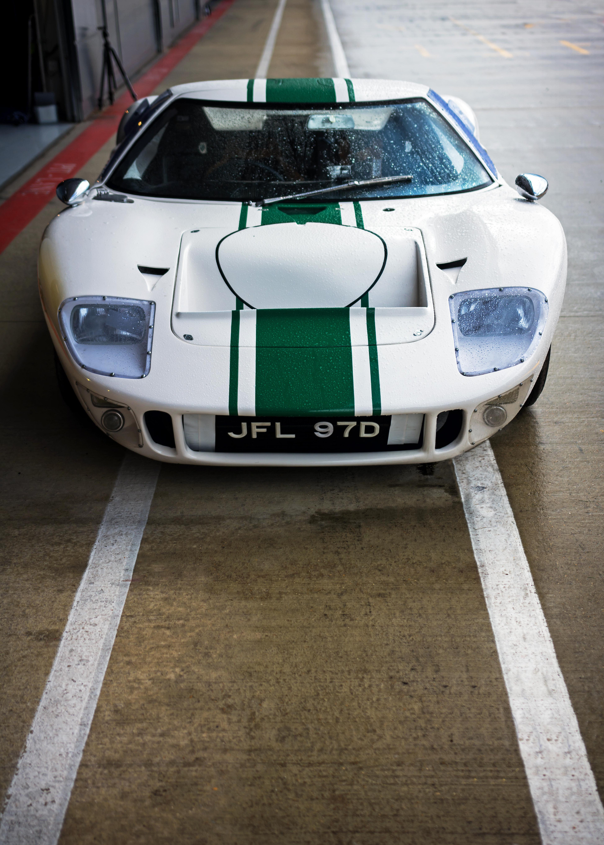 Ford GT40 at the 2018 Silverstone Classic Preview Day