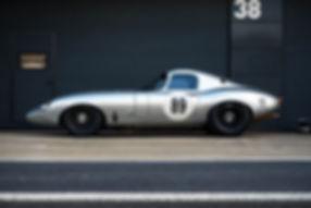 Mike Wrigley's 1963 Jaguar E-Type Low Dr