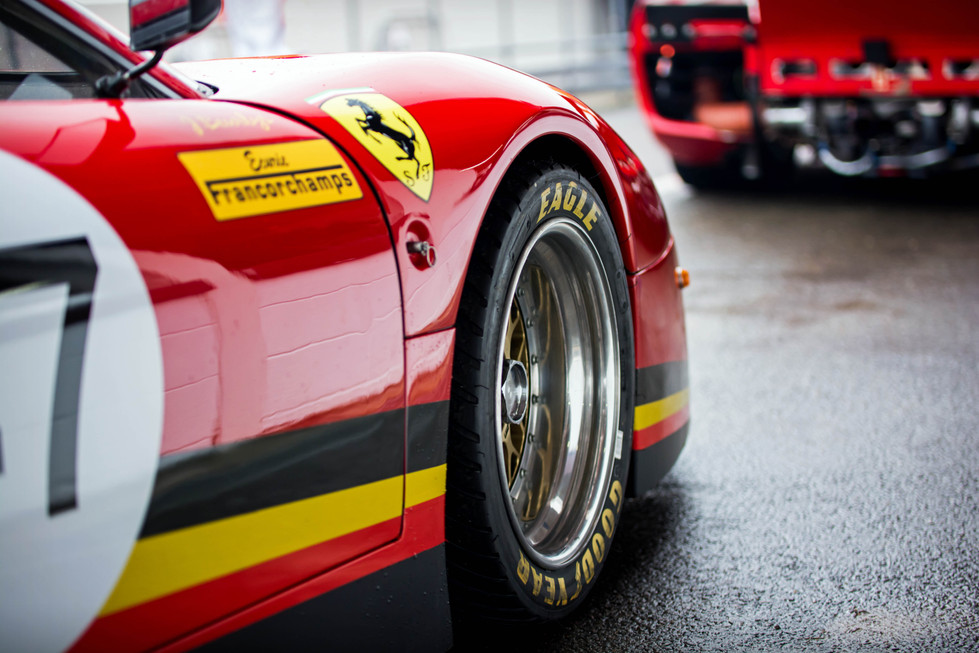 1981 Ferrari 512 BB LM at the Goodwood 76MM