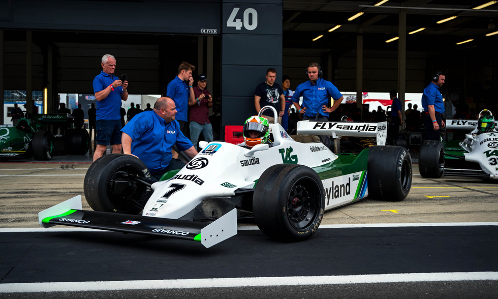 Mike Cantillon's 1981 Williams FW07C F1