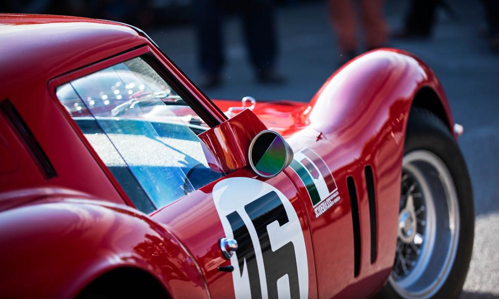 Niklas Halusa & Emanuele Pirro's 1961 Ferrari 250 GT SWB Breadvan