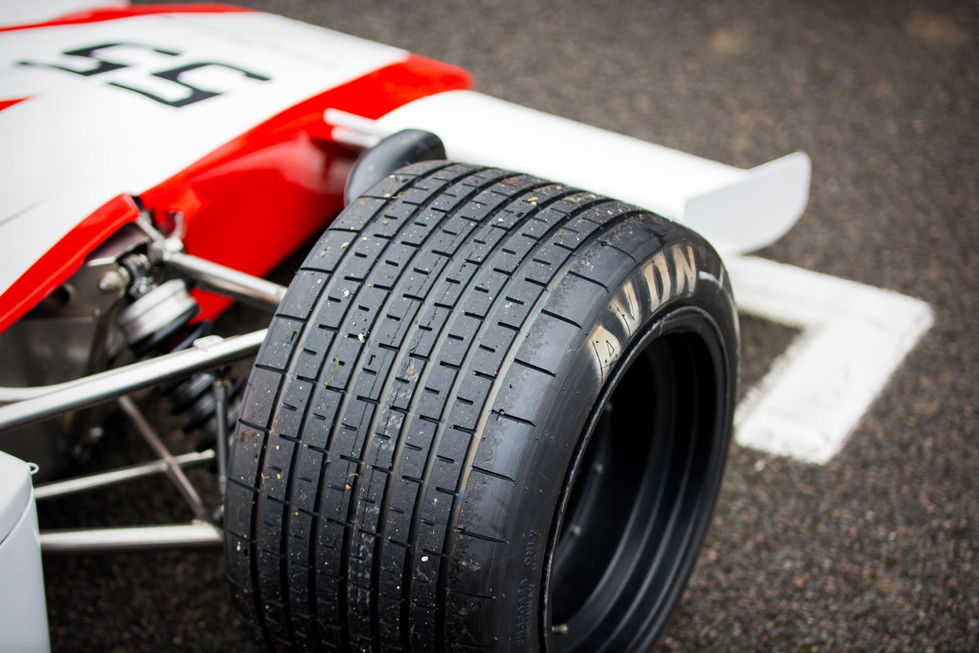 1974 Lola-Chevrolet T332 F5000 at the Goodwood 76MM