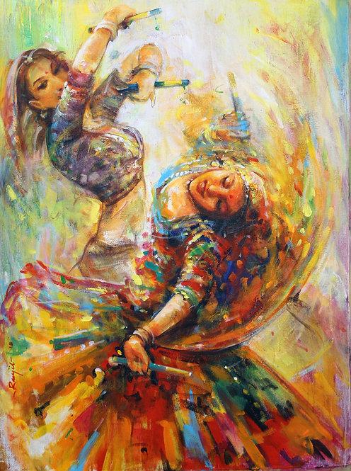Ranjit Sarkar - Woman folk dance