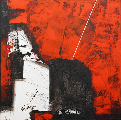 Sudhir Talmale - RED Abstract -1