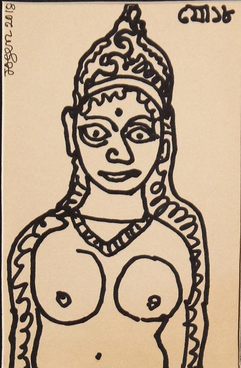 jogen chowdhury painting