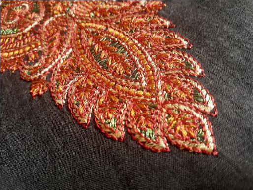 Kahmiri handicraft - sozni embroidery