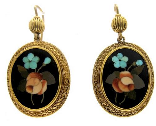 Pietra dura jewellery