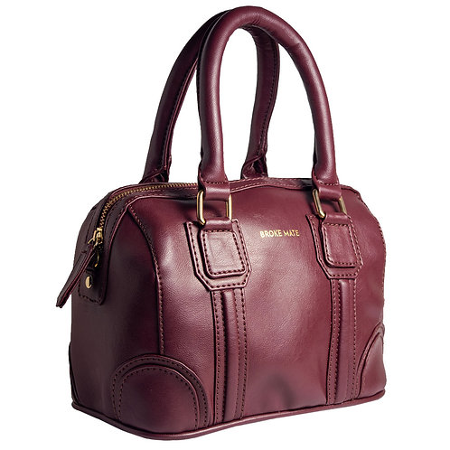 BrokeMate - Tuesday Satchel Sling Bag (Maroon)