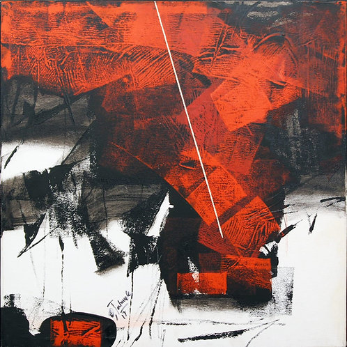 Sudhir Talmale - RED Abstract -5
