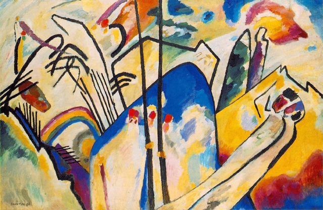 abstract art - Wassily Kandinsky's Painting