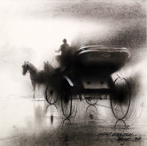 charcoal painting for sale