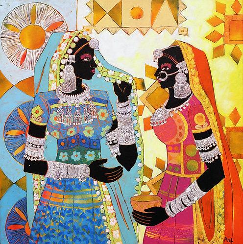 Anuradha Thakur art