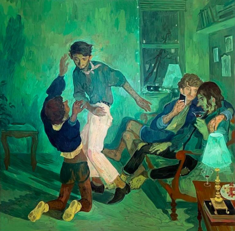 Salman Toor painting